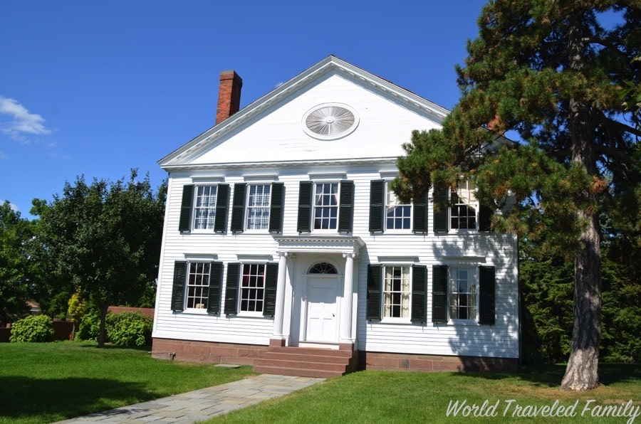 Greenfield Village Noah Webster House