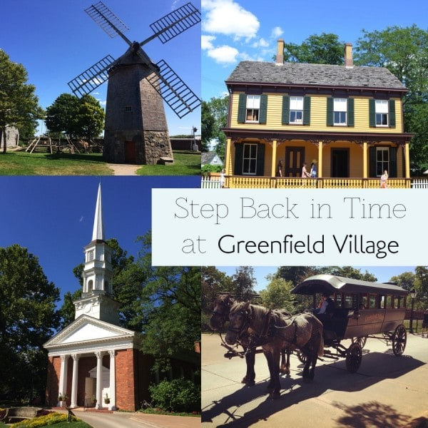 Greenfield Village dearborn Michigan