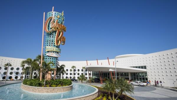 Cabana Bay Beach Resort Front Entrance 2