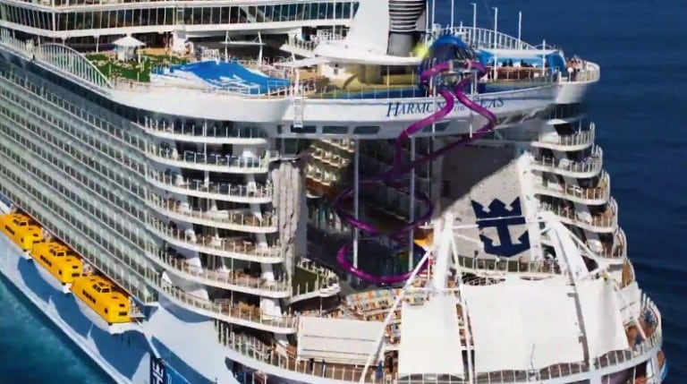 Royal Caribbean Reveals More Details About The Abyss Slide on Harmony of The Seas!
