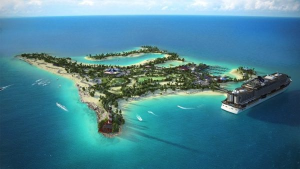 MSC Cruises to Create Exclusive Bahamian Marine Reserve Island Experience for Caribbean Cruise Guests