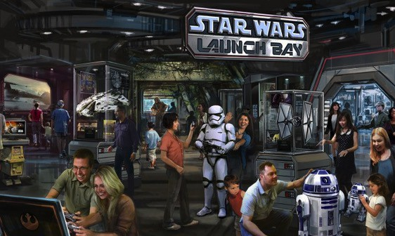 Star Wars Launch Bay concept