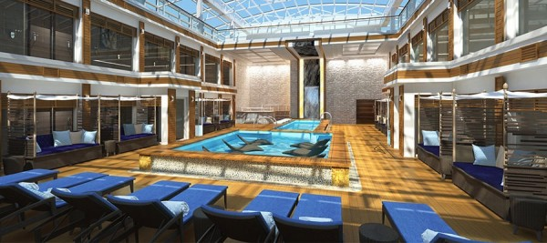 Norwegian Joy - haven pool