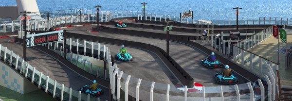 Norwegian Joy - race cars
