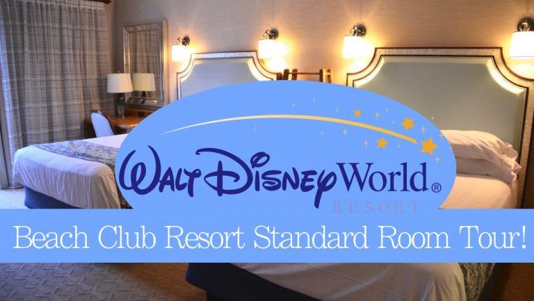 Disney's Beach Club Resort ~ Room Tour {VIDEO}