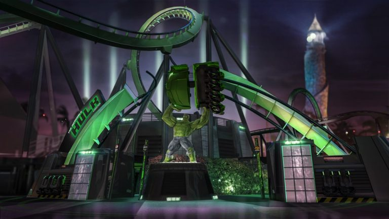 Universal Orlando Releases New Details About Incredible Hulk Coaster Relaunch!