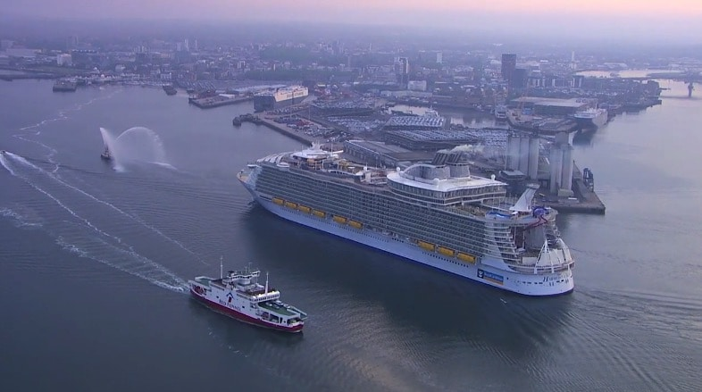 The World S Largest Cruise Ship Harmony Of The Seas