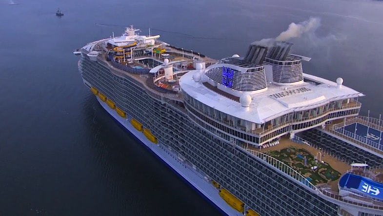 The World S Largest Cruise Ship Harmony Of The Seas Arrives In Southampton World Traveled