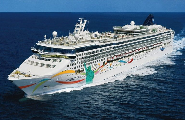 Norwegian Dawn Taken Down To The Steel For New Renovation