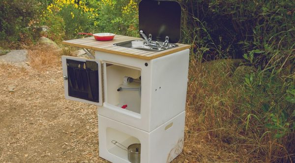 Happier Camper - outdoor kitchen