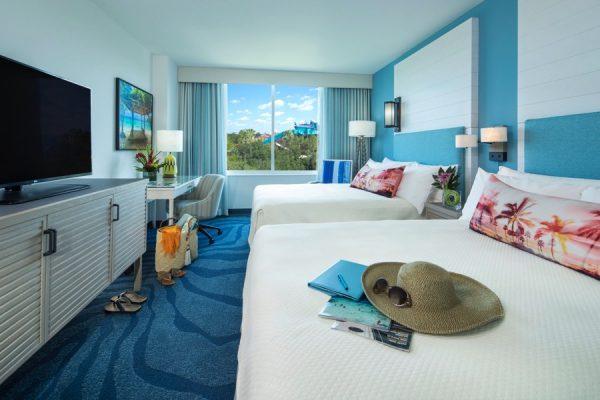 Universal Orlando's Sapphire Falls Resort - room