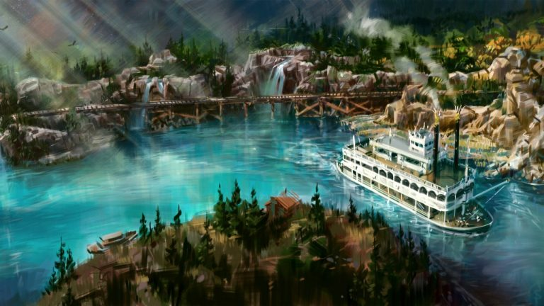 Disneyland Announces Railroad and Rivers of America Attractions to Reopen Summer 2017