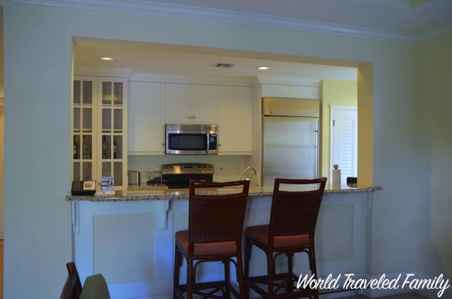 beaches key west village two bedroom suite breakfast bar world