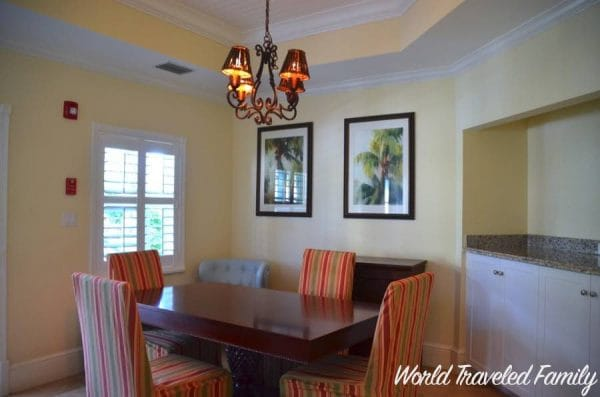 Beaches Key West Village Two Bedroom Suite - dining room