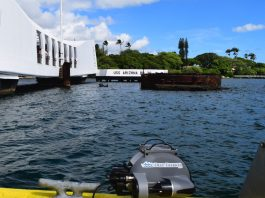 Deep Trekker At USS Arizona Hawaii
