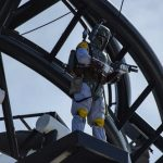 Star Wars Day At Sea - pool patrol with boba fett