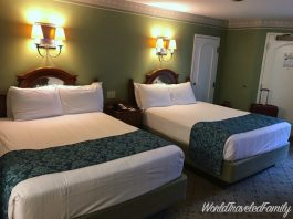 Walt Disney World Port Orleans Riverside standard room