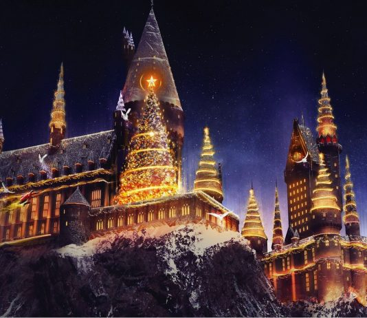 The Wizarding World Of Harry Potter Christmas
