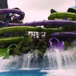 Universal Orlando's new South Pacific themed water park Volcano Bay - Ohyah and Ohno Drop Slides