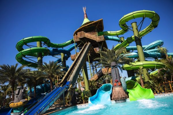 Universal Orlando's new South Pacific themed water park Volcano Bay - Taniwha Tubes