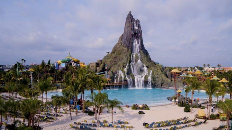 Universal Orlando Debuts Volcano Bay!