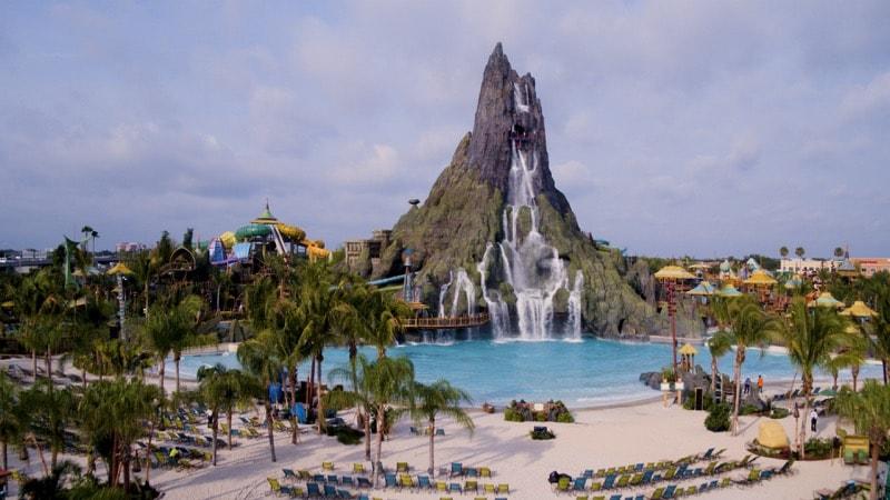 Universal Orlando's new South Pacific themed water park Volcano Bay - Waturi Beach