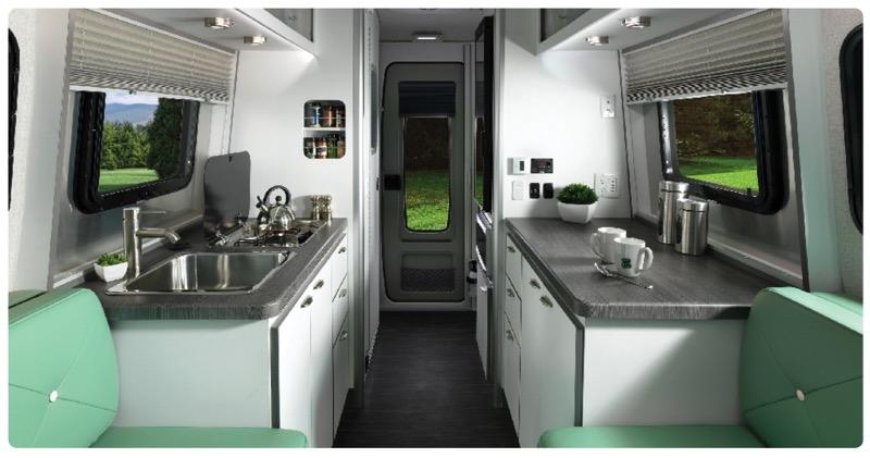Airstream Nest kitchen