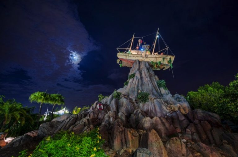 """""""Toy Story"""" Characters Take Over Disney's Typhoon Lagoon Water Park For H2O Glow Nights"""
