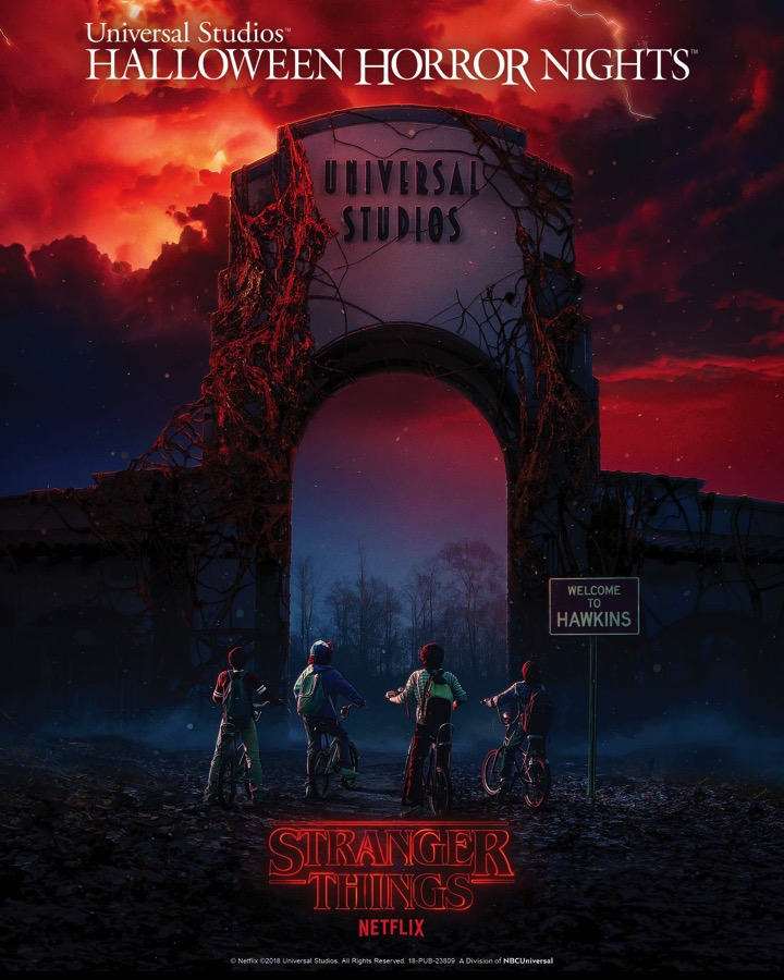 Stranger Things is Coming to Universal Studios' Halloween Horror Nights