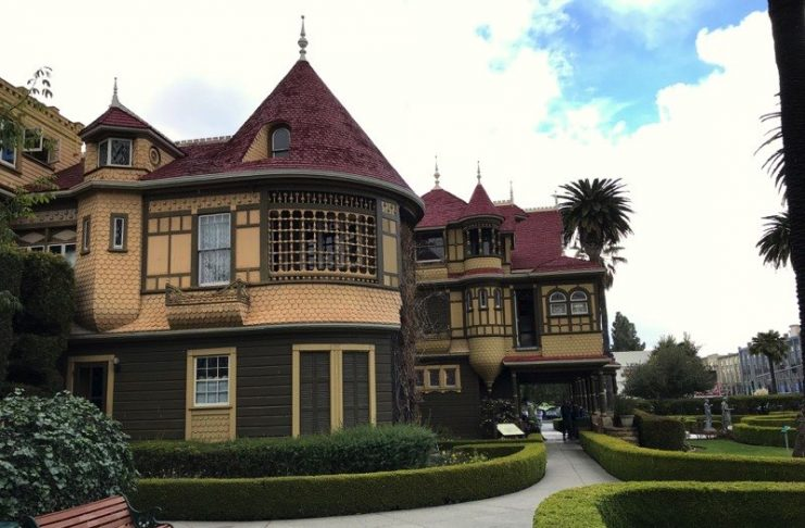 Winchester Mystery House - door to nowhere