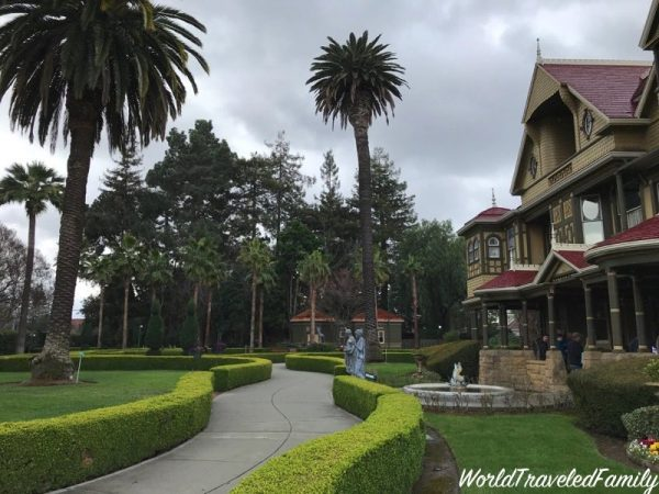 Winchester Mystery House - front