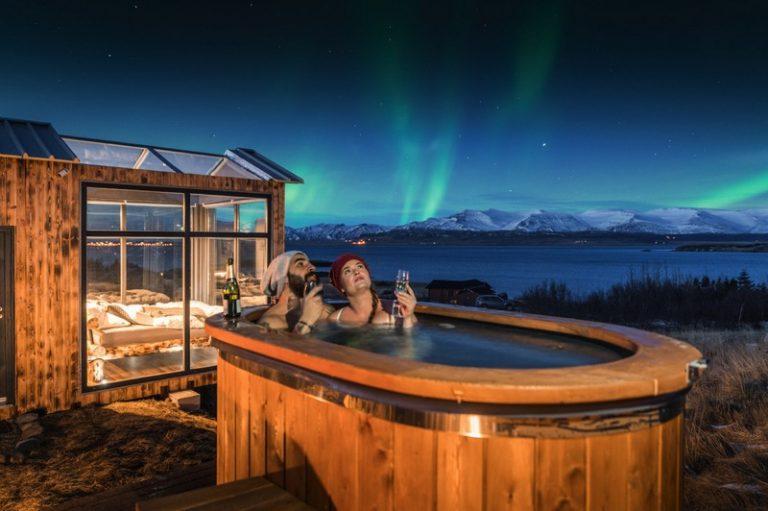 Sleep Under The Stars At The Panorama Glass Lodge