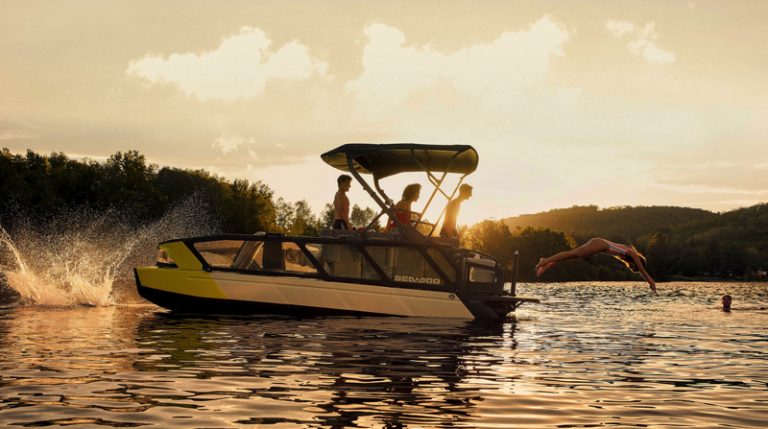 All-New 2022 Sea-Doo Switch Pontoon Boat Is A Game Changer!